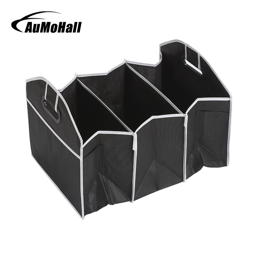 AuMoHall organizador de múltiples bolsillos para coche de gran capacidad bolsa de almacenamiento plegable
