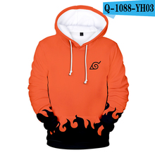 Naruto Hoodie Japanese Anime Moletom Cosplay Comic Mens Clothes 3D Clothing Streetwear
