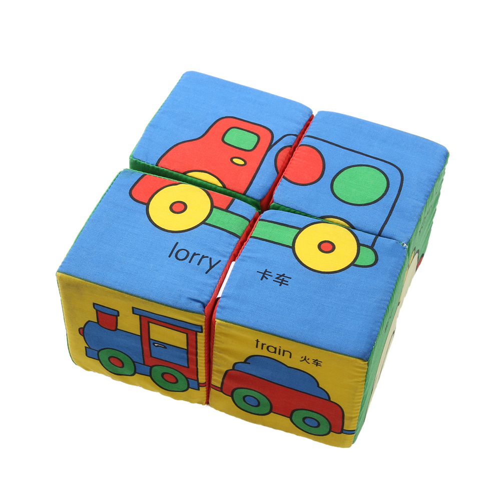 Children 3D Cloth Building Puzzles  Educational Toys Variety Multi-faceted Cubes Fabric Jigsaw Puzzle Cube Developmental Toy 1000pcss wooden puzzles wool puzzle adult decompression toy jigsaw puzzle for children s educational toys developmental game