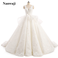 Newest Ball Gown Quinceanera Dresses 2017 Scoop Sleeveless Applique Flowers Satin Prom Dresses Illusion Back Chapel Train Real