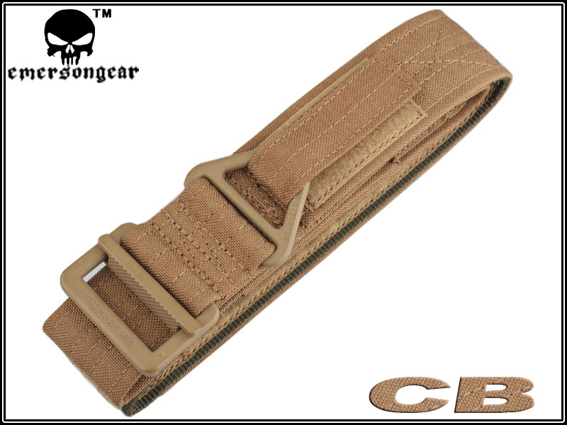 EMERSON CQB rappel Tactical Belt Men sports Military Army canvas belt coyote brown EM8673 Waist Support