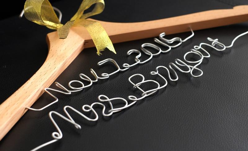 Персоналізовані весільні вішалки - Святкові та вечірні предмети
