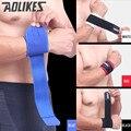 2pcs/lot Adjustable Sport Wristband Wrist Brace Wrap Bandage Support Band Gym Strap Safety sports wrist protector Hand Bands