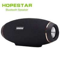 HOPESTAR H20 Wireless Portable Bluetooth Speaker Rugby Outdoor Bass Effect With Mic Power Charge Bank For