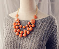 Layered Necklace, Handmade Necklace, New Statement Necklace