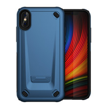 Two-In-One PC+TPU Case For Iphone7 7P 8 8P Slim Thin Smooth TPU PC Hard iPhoneX XS XR XMAX Mobile Phone