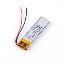 3.7v lithium ion rechargeable battery 301033 70mAh for MP4 MP3 Bluetooth earphone small toy sound recording pen