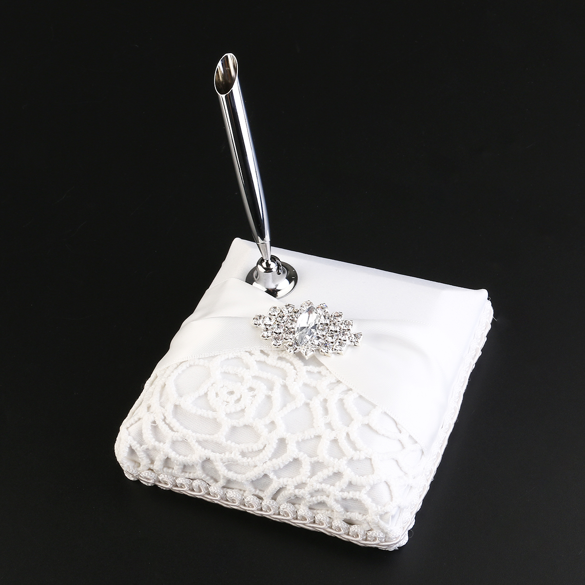 Table Pen With Holder For Wedding Signature Gift Package Festive & Party Supplies