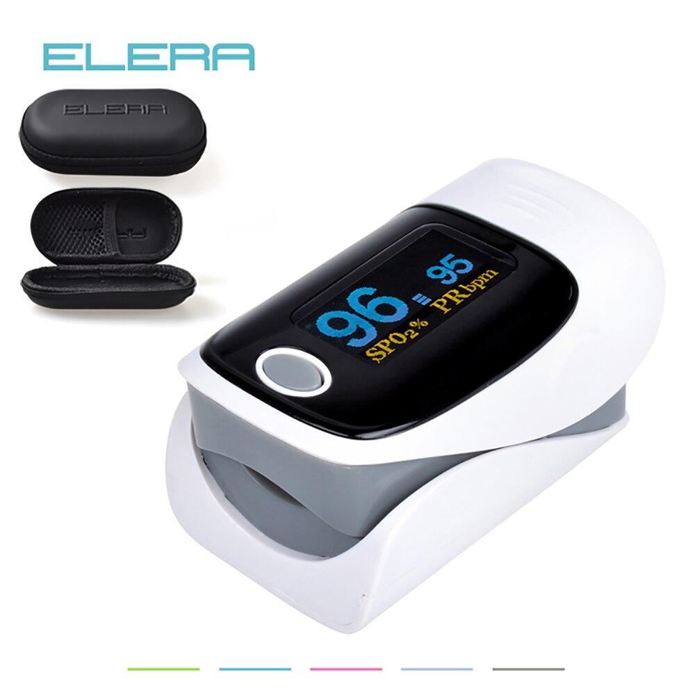 Elera atualizar com ajuste de alarme oxímetro digital dedo, oxímetro de pulso um dedo, pulsioximetro spo2 pr oximétrico de dedo