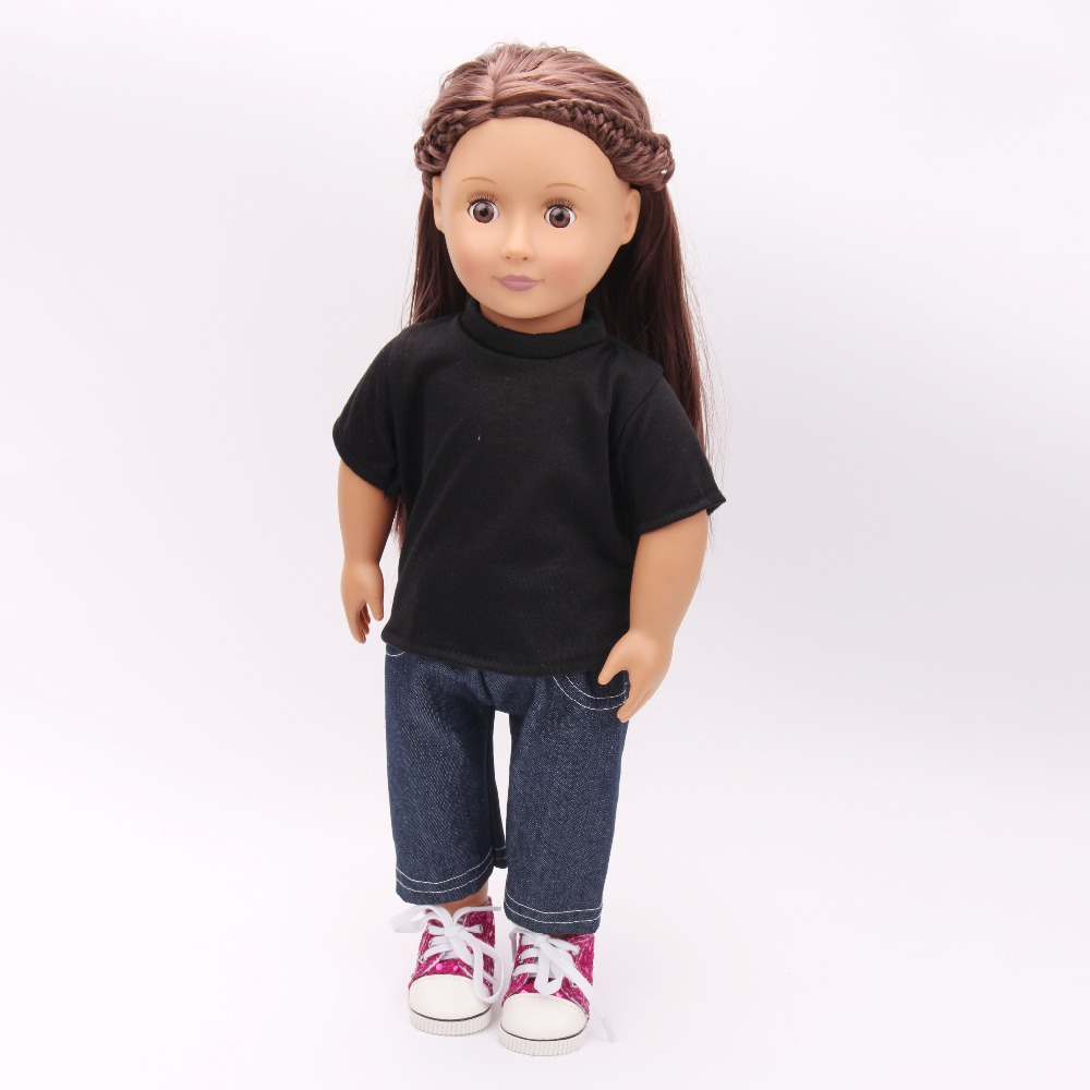 Free shipping!!! hot 2017 new style Popular 18 American girl doll clothes/dress TS28 free shipping hot 2016 new style popular 18 american girl doll clothes dress for girls gift