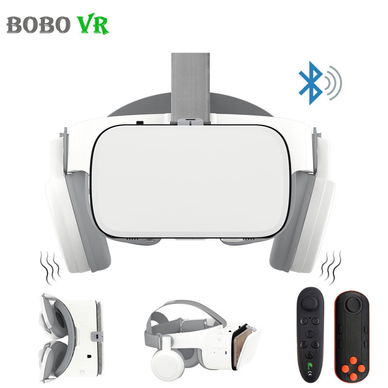BOBOVR Z6 Upgrade 3D Glasses VR Headset Google Cardboard Bluetooth Virtual Reality Glasses Wireless VR Helmet For Smartphones