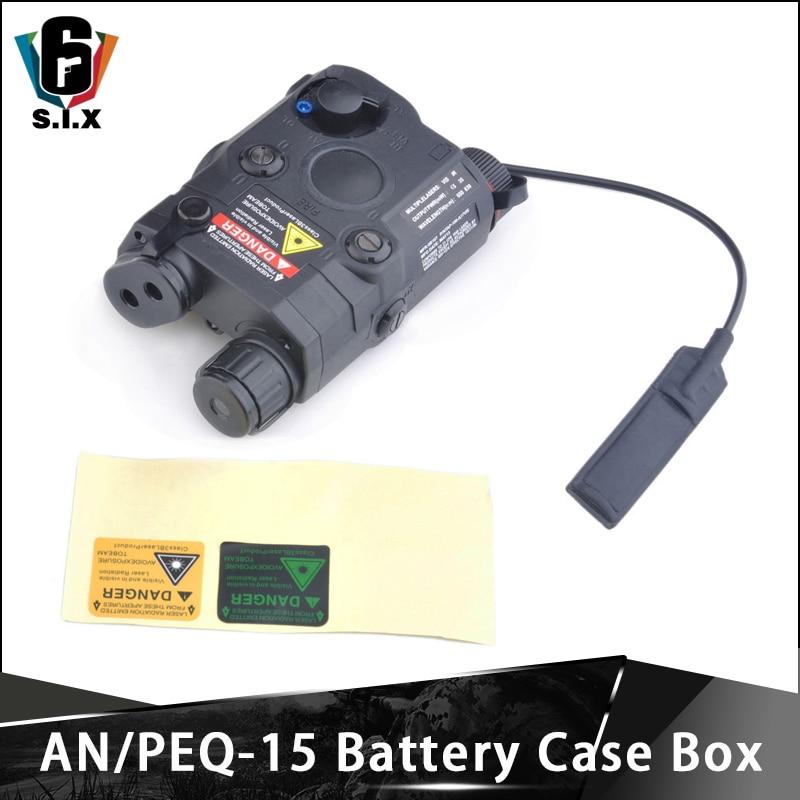 Battery-Case-Box Element Airsoft Dummy Picatinny-Rail An peq-15 Peq 15 No-Function