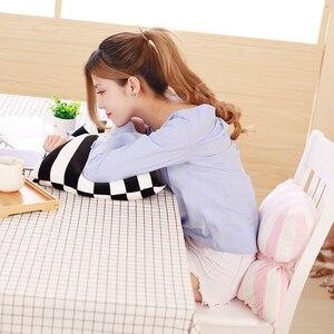 Image 4 - かわいいスカイシリーズぬいぐるみムーン、スター雲ちょう結びぬいぐるみおもちゃソフトクッション素敵なベビー睡眠枕の装飾