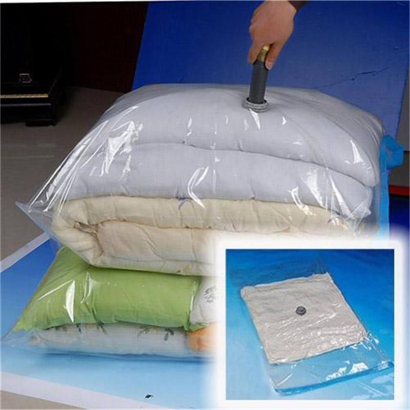 New Hot Sale 90x130cm Saving Vacuum Storage Seal Travel Large Bag Compression Space Saver Compress Space High Quality