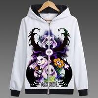 Game Undertale Coat Hoodie Sweatershirt Men Trench Coat Hooded Autumn Jacket Women Men Undertale Sans And