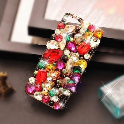Xingduo 3d lusso di cristallo di bling diamonds hard back case cover per samsung galaxy note 7 3 4 5 s3 s4 s5 s6 s6edge s7 S7Edge