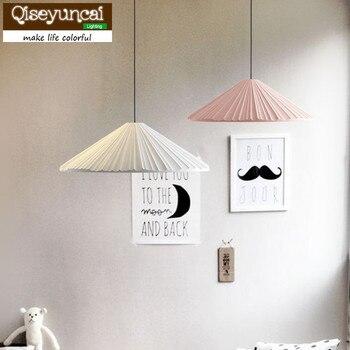 Macarons Qiseyuncai 2018 Nórdico moderno lustre idéias simples restaurante bar lâmpada lâmpadas de quarto de solteiro