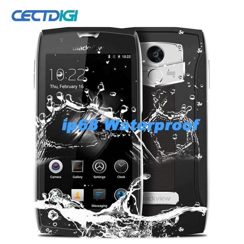 Blackview Mt6737 BV7000 Mobile-Phone IP68 Waterproof 16gb 2gb Nfc Quad Core Fingerprint Recognition