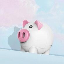 лучшая цена Portable Bluetooth Speaker Piggy Shaped Mini Stereo USB TF Card Wireless Speaker AS99