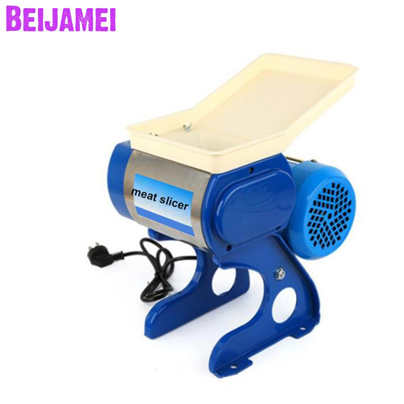 Beijamei Multifunctional Restaurant Use Electric Meat Grinder Slicing Machine Home Meat Cutting Slicer Machine Price