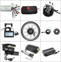 Free Tax US Shipping 48V 14.5Ah Down Tube Battery 5A Charger + 1000W 26 Ebike Motor Wheel Controller PAS LCD Brakes Throttle