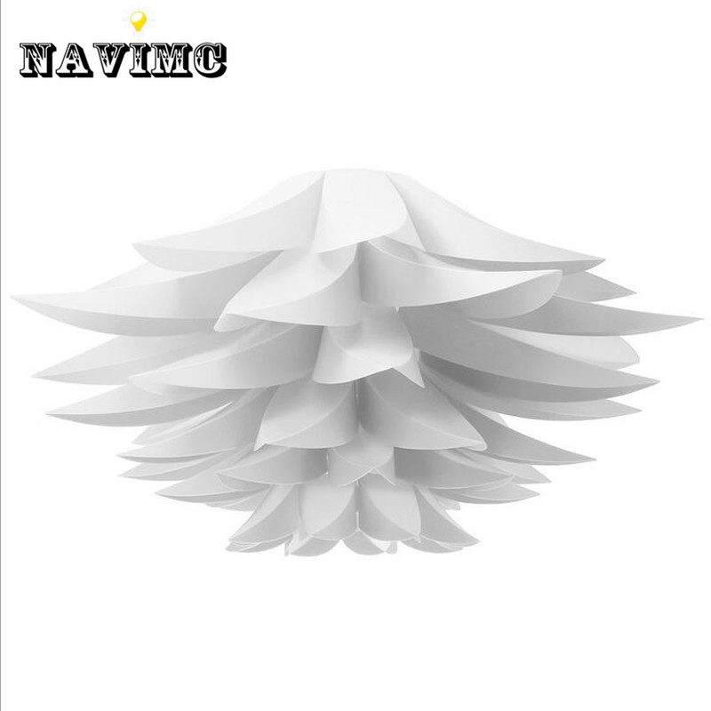 DIY Lily Lotus IQ Puzzle <font><b>Pendant</b></font> Lampshade Cafe Restaurant Ceiling Room Decoration LED Hanging Lamp
