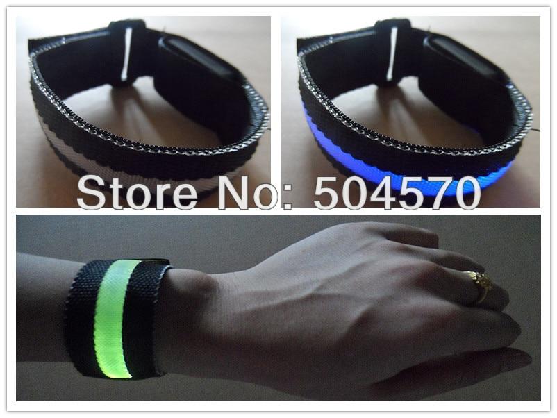 10pcs / lot 22cm najlon LED sportski ručni remen traka užaren - Za blagdane i zabave - Foto 5