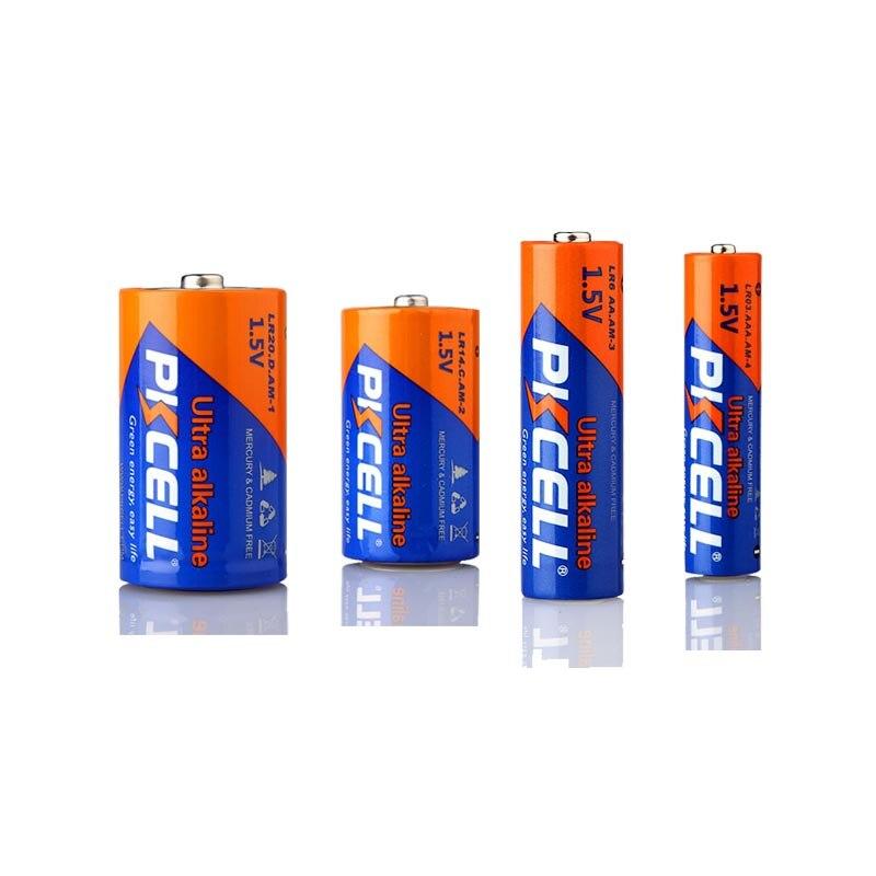 6pcs Pkcell C Lr14 Battery Am2 Cmn1400 E93 Super Alkaline
