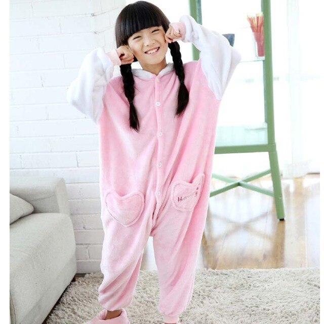 1795cd48e62a59 Hello Kitty Kombinezony Kombinezon Dzieci Dzieci Zwierząt Cosplay Costume Piżama  Kigurumi Unisex Onesie Pijama Koc Podkłady