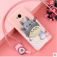Phone Cases For Xiaomi Redmi 4 Pro 4a 3D Cute Cartoon Ice Cream Soft TPU Silicone