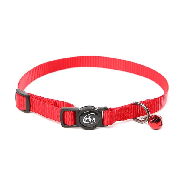 1 PCS 30 cm Cat dog collars for small dogs Pet Cat Collar 3 colors New Fashion adjustable  Nylon  Cat collar