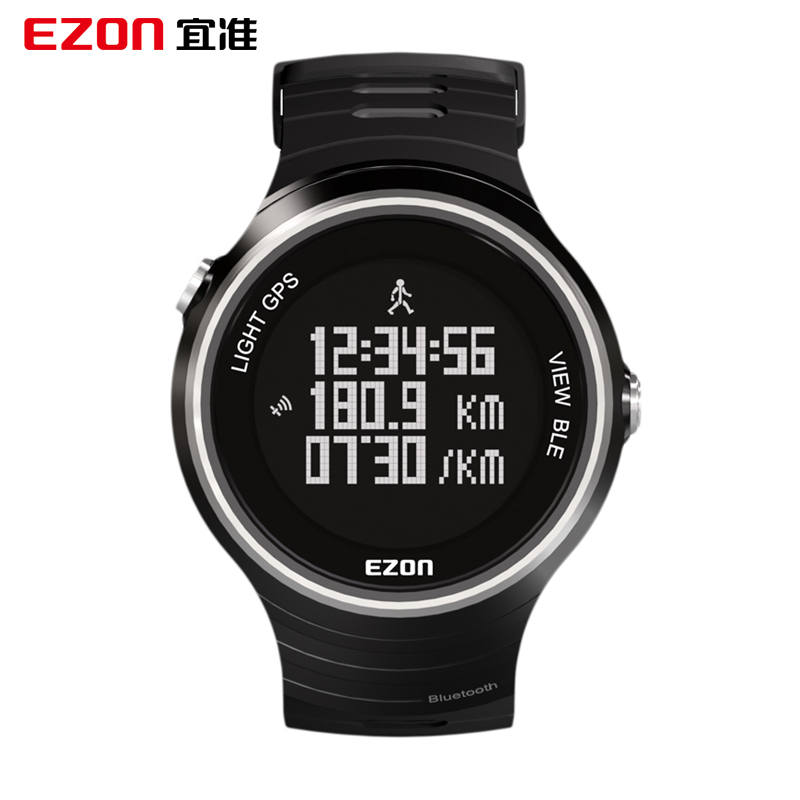 Ezon Outdoor Sports For Smart GPS Watches Running Male Multifunctional 5ATM Waterproof Electronic Watch G1 Black ezon outdoor sports for smart gps watches running male multifunctional 5atm waterproof electronic watch g1 black
