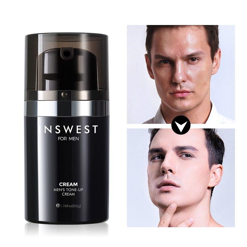 50ml Anti Aging Face Cream Hyaluronic Acid Serum Anti Wrinkle Day Cream For Mens Moisturizing Oil-control Whitening Acne Cream