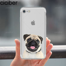 Pug Dog Design Phone Cases for iPhone