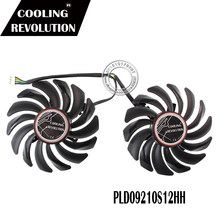 87MM PLD09210S12HH DC12V 0.40A 4PIN FOR MSI GTX1050Ti GTX1050 Graphics Card Cooler Fans (Red Dragon Graphics Card)(China)