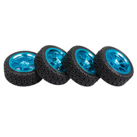 4Pcs RC Car 68mm Tire Tyre Flat Free On road for 1:10 HPI HSP LRP FS 94103 1:18 WLtoys 959 RC Touring Drifting Racing Car Parts