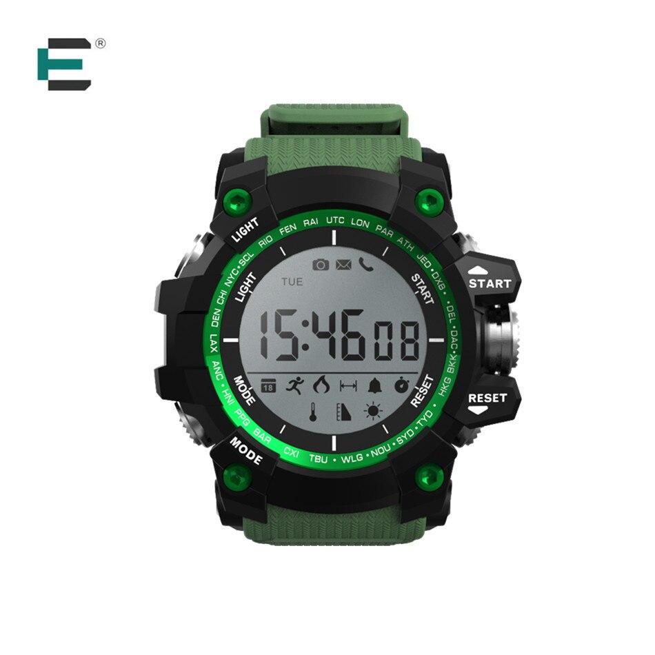 imágenes para XR05 bluetooth Smartwatch 550 MAH UV monotor barométrica altitud de presión a prueba de agua deportes reloj inteligente para Iphone android