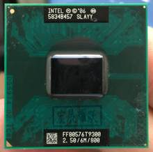 Intel Core 2 Duo T9300 CPU Laptop prozessor PGA 478 cpu 100% arbeits richtig(China)