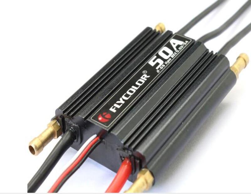 Flycolor 50 70 90 120 150A Water cooling Brushless Bidirection ESC 2 6S 5 5V 5A