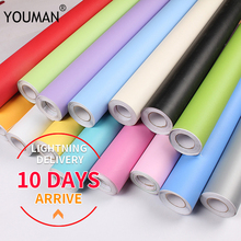 Modern Kitchen Cupboard Cabinet Self adhesive Wallpapers Roll Vinyl Wall Papers Furniture Stickers PVC DIY Decorative Films