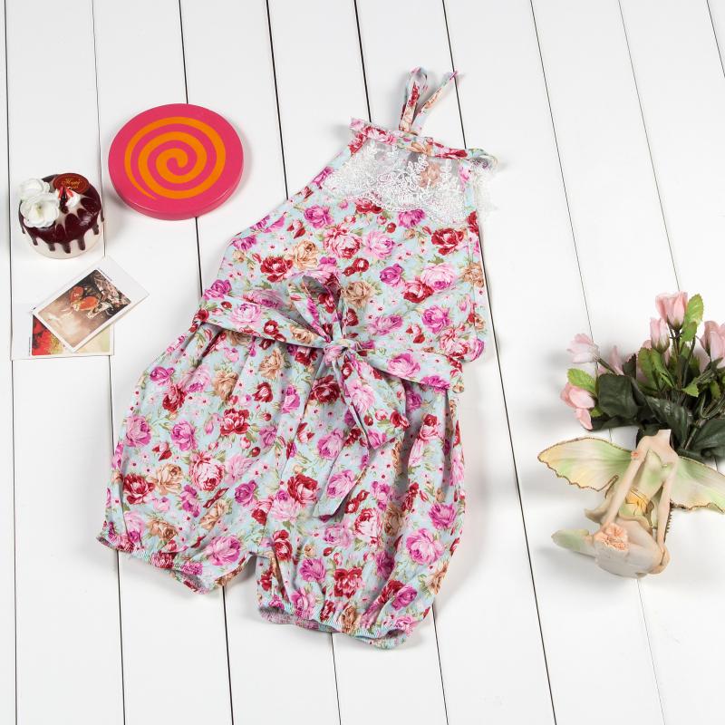 nueva moda impresin linda de algodn flores muchacha del nio del original ropa ropa nios recin