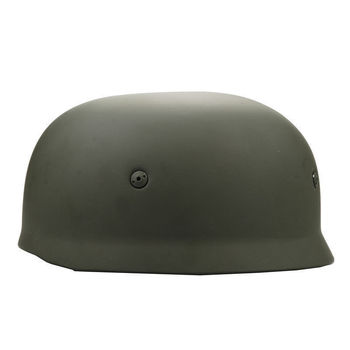 Casco verde WWII alemán FALLSCHIRMJAGER paracaidista M38