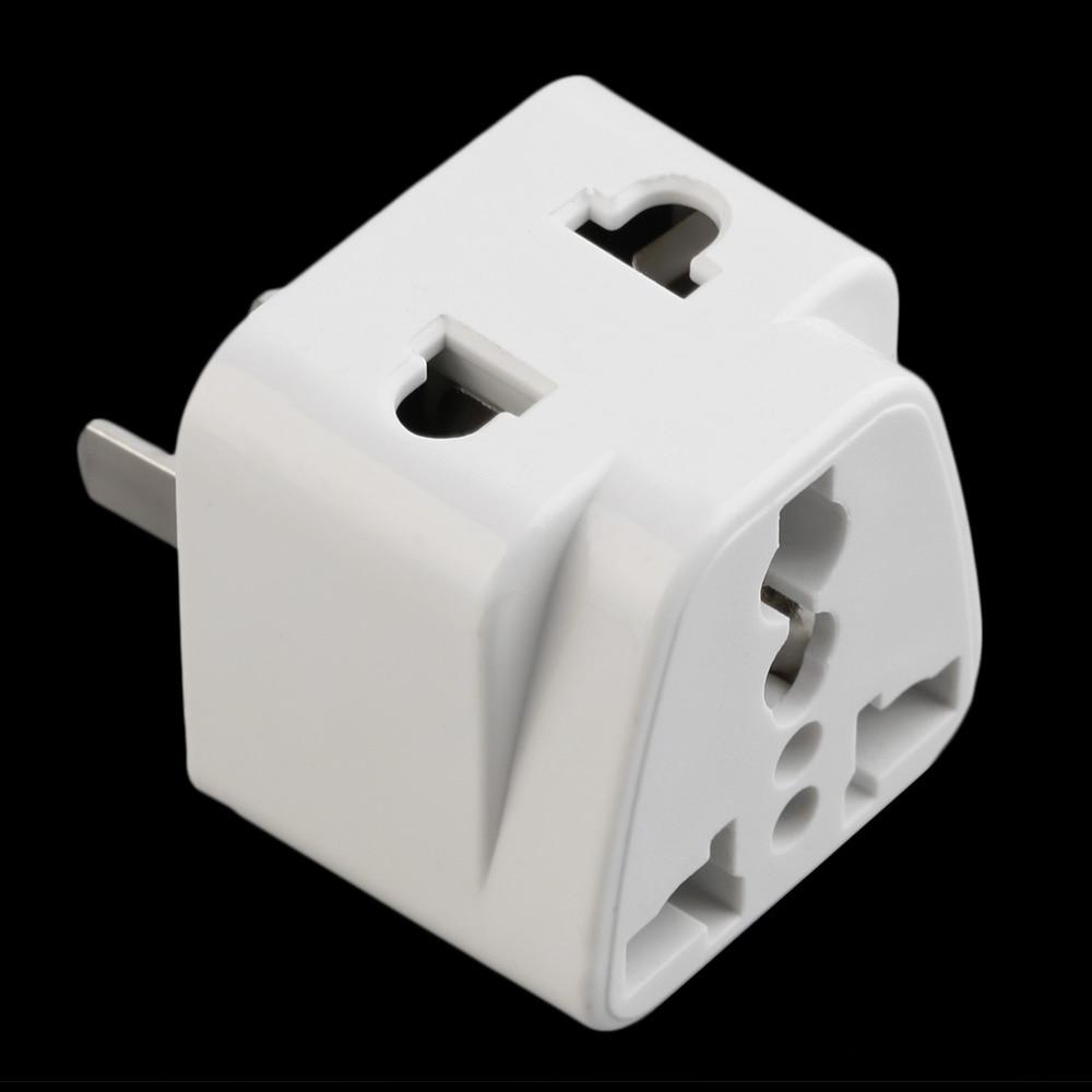 Us to uk ac power plug white black travel wall adapter plug converter - Hot 2 Pin Ac American Usa Power Plug Adapter Travel Converter Australia Uk Usa Eu Wholesale