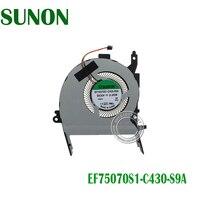 Ventilador de refrigeração da cpu do portátil para asus fl5900u fl5900 fl5900l x556ub x556 EF75070S1-C430-S9A