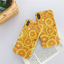 Thin Soft Case Official Silicone For iPhone 7 8 6 Plus 7Plus orange phone case For Apple iPhone X XS Max XR For iPhone 6S cover чехлы для телефонов chocopony чехол для iphone 7plus цветные соты арт 7plus 293 page 8