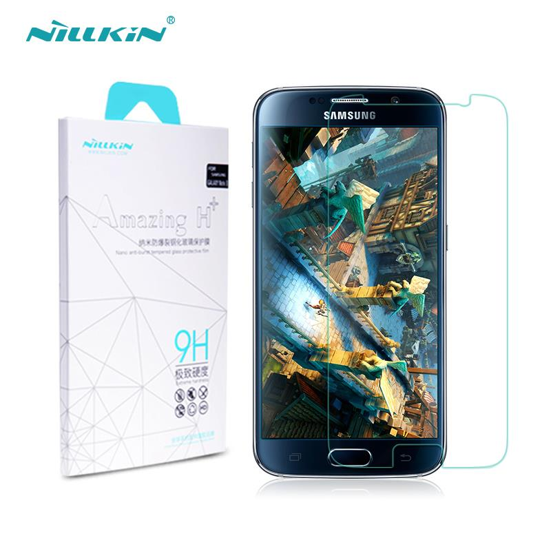 sFor Samsung Galaxy S6 Tempered Glass Nillkin Amazing H Anti Explosion Screen Protector for Samsung Galaxy
