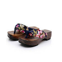 bfe84a9ebebe7 Sleeper  5005 Summer women Slippers Flip Flops Platform Shoes ladies Sandals  Clog Wooden casual 36