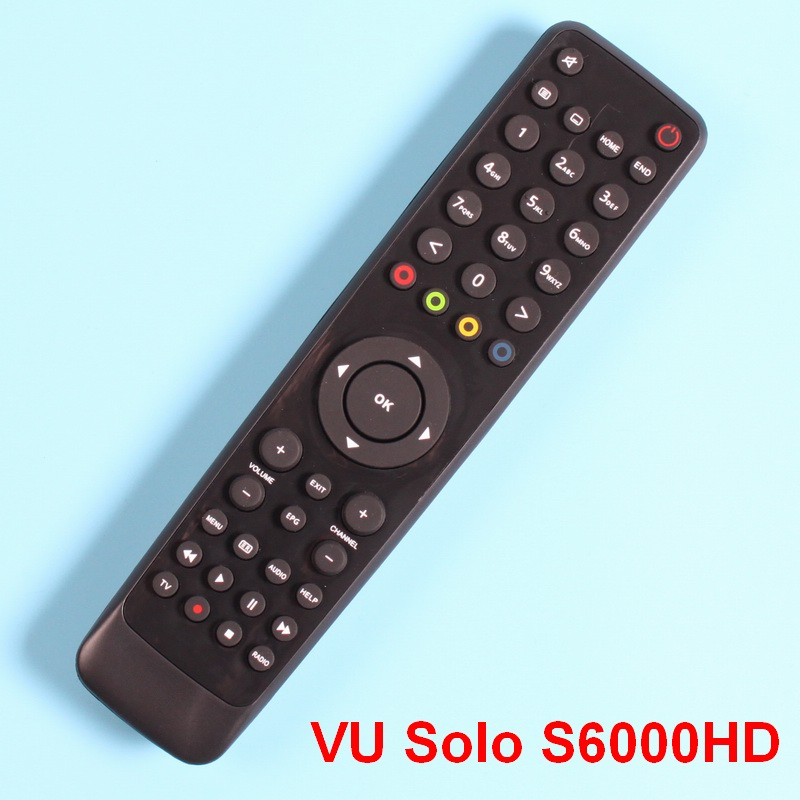 Remote control for VU Solo Cloud ibox/ VU Solo Pro/ VU Duo X Solo mini Openbox S6000HD Satellite Receiver aqua vu 760 cz