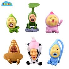 ToyBear 6pcs/set toys hobbies Japan's genuine Kobitos Decorations toys 5cm minion action toy figures freeshipping