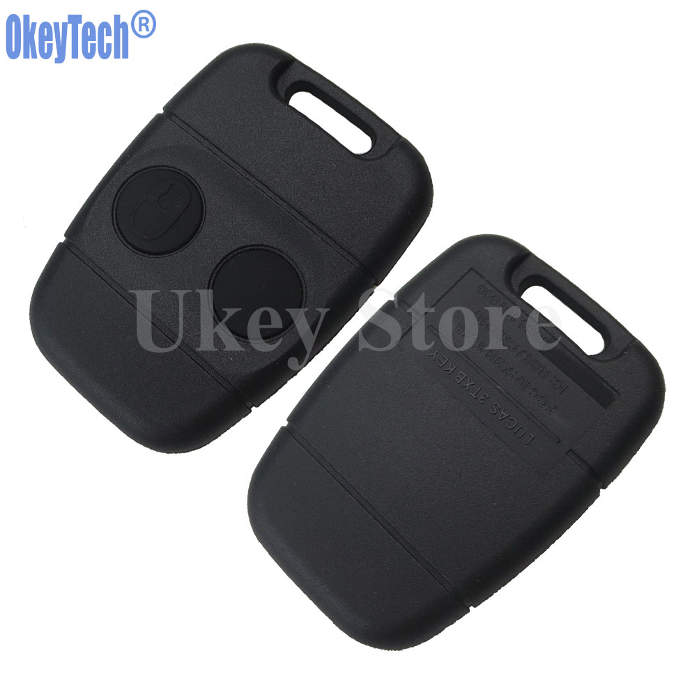 OkeyTech 2 Button Smart Remote Car Key Shell Case for Land Rover C50 Auto Durable Blank Auto Replacement Keyless Entry Fob Cover new for dell inspiron 1464 1564 1764 n4010 fan